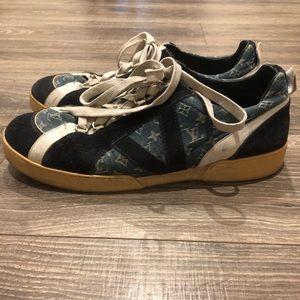 Louis Vuitton Denim sneakers
